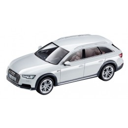 Audi A4 allroad Modellauto 1:43 Gletscherweiß Modell 2016