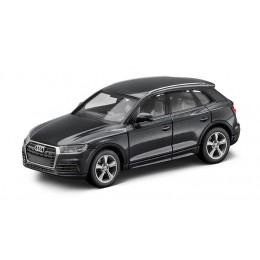 Audi Q5 8R Modellauto 1:87 Modell 2016 Manhattangrau