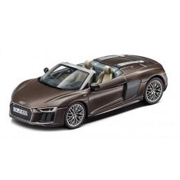 Audi R8 Spyder V10 Modellauto 1:43 Herpa Argusbraun matt