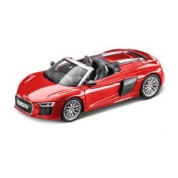 Audi R8 Spyder 1:43 Modellauto Herpa Dynamitrot Rot