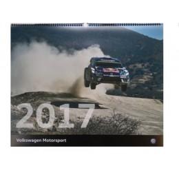 VW Volkswagen Motorsport Sport Wandkalender Kalender 2017 - 60x48 cm