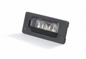 Original Skoda Rapid Superb Yeti LED Kennzeichenleuchten links + rechts