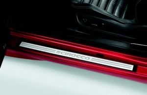 Original VW Scirocco Einstiegsleisten Satz Edelstahl 2tlg.