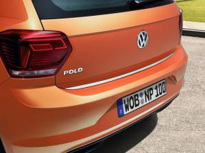 Original VW Polo Schutzleiste für Heckklappe Ladekantenschutz chrom 2G0071360