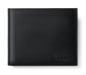 Audi Geldbörse Herrenbörse Portemonnaie Geldbeutel Leder schwarz - 3151900300