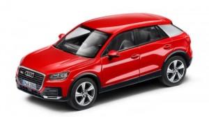 Audi Q2 Modellauto 1:43 Herpa Tangorot