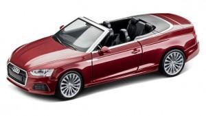 Audi A5 Cabriolet Cabrio Modellauto 1:87 Modell 2017 Matardorrot