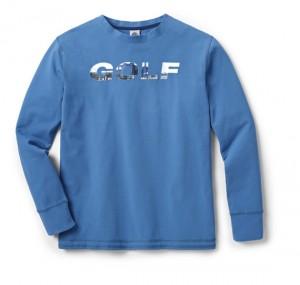 Volkswagen VW Golf Longsleeve Langarmshirt Shirt Herren blau XL