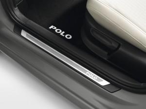 Original VW Polo 6R Einstiegsleisten Satz Edelstahl 2-Türer
