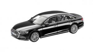 5011504223 Audi A4 8W Avant Modellauto 1:43 Modell 2015 Tangorot Rot