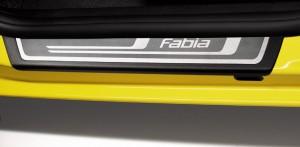 Original Skoda Fabia II Einstiegsleisten Edelstahl 4tlg.